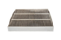 Dirty car aircondition filter Royalty Free Stock Image