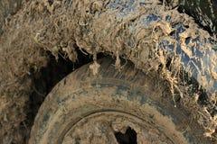 Dirty car close-up Stock Photos