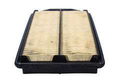 Dirty car filter Royalty Free Stock Image