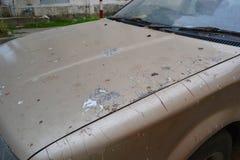 Dirty car Royalty Free Stock Photos