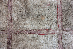 Dirty cement floor Royalty Free Stock Images