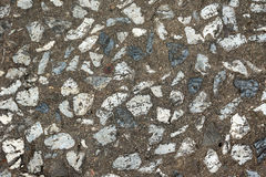 Dirty cement limestone floor texture Royalty Free Stock Image