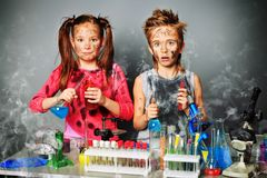 Dirty children Royalty Free Stock Photos