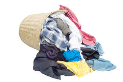 Dirty clothes. The clothes are not washed Stock Photography
