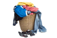 Dirty clothes. The clothes are not washed Royalty Free Stock Images