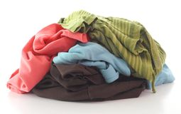 Free Dirty Clothing Stock Photography - 35015672