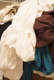 Dirty clothing  for washing Royalty Free Stock Photography