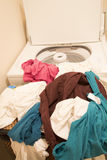 Dirty clothing  for washing Stock Image