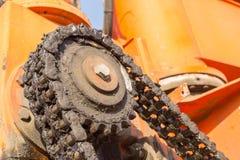 Dirty Cogwheel Stock Photo