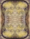 Dirty colors abstract symmetric vertical background for vintage design. Hand drawn watercolor picture. Green, yellow, brown and bl. Dirty colors abstract stock images