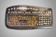 Dirty Computer Keyboard Royalty Free Stock Photo