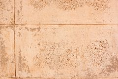Dirty concrete block wall background. Stock Photo