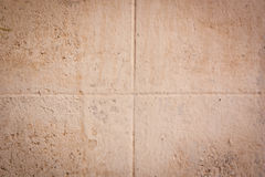 Dirty concrete block wall background. Royalty Free Stock Image