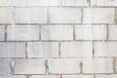 Dirty concrete block wall Stock Image