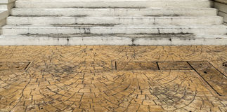 Dirty Concrete Staircase Royalty Free Stock Image