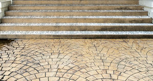 Dirty concrete staircase Stock Photos