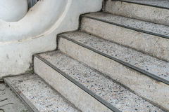 Dirty concrete Staircase Royalty Free Stock Images