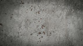 Dark grey concrete wall Stock Photography