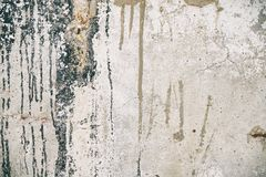 Dirty concrete wall texture Stock Image