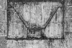 Dirty concrete wall Stock Image