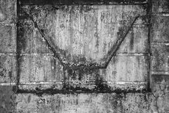Dirty concrete wall Stock Photo