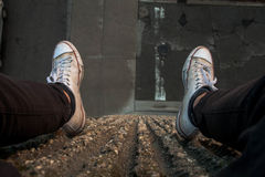 Dirty Converse Royalty Free Stock Photo