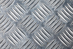 Dirty corrugated sheet metal background Royalty Free Stock Images
