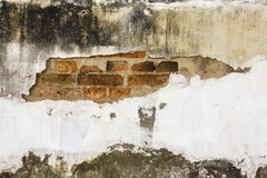 Dirty cracked wall. Background for any purpose Royalty Free Stock Photo