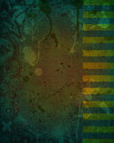 Dirty Dark Green Grunge Background Design Royalty Free Stock Image