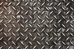 Dirty diamond plate Royalty Free Stock Images