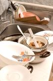 Dirty dishes Royalty Free Stock Photography