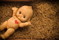 Dirty doll Stock Photo
