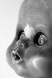 Dirty Doll Portrait Royalty Free Stock Photography
