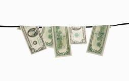 Dirty dollars Stock Photos