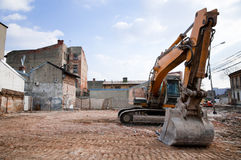 Dirty Excavator Royalty Free Stock Photo