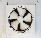Dirty  exhaust fan Stock Photos