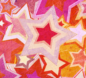 Dirty fabric with stars. Illustration of dirty fabric with stars stock illustration