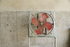 Dirty fan. Stock Photo