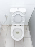 Dirty flush toilet. Stock Image