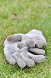 Dirty gardening gloves Stock Image