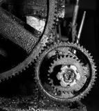 Dirty Gear drive Royalty Free Stock Photography