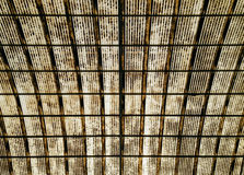 Dirty glass roof Stock Photography