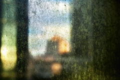Afternoon Dirty Window Stock Image