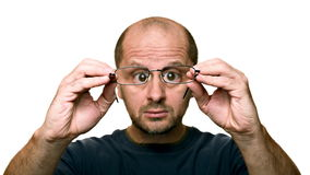 Dirty Glasses? Stock Image