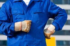 Dirty Gloves Stock Photos