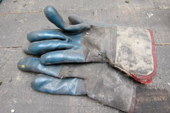 Dirty Glovesnd Stock Photo