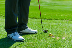 Dirty golf clubs Royalty Free Stock Images