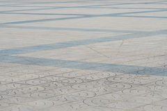 Dirty granite floor with modern design pattern Stock Photo