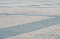 Dirty granite floor with modern design pattern Royalty Free Stock Photos