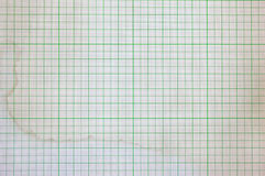 Dirty graph paper Royalty Free Stock Image
